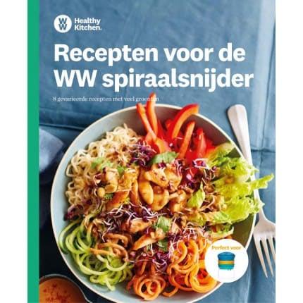 WW spiraalsnijder receptenboek