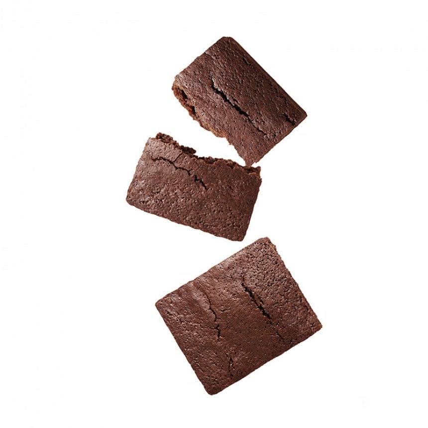 Gebakken brownies cake mix