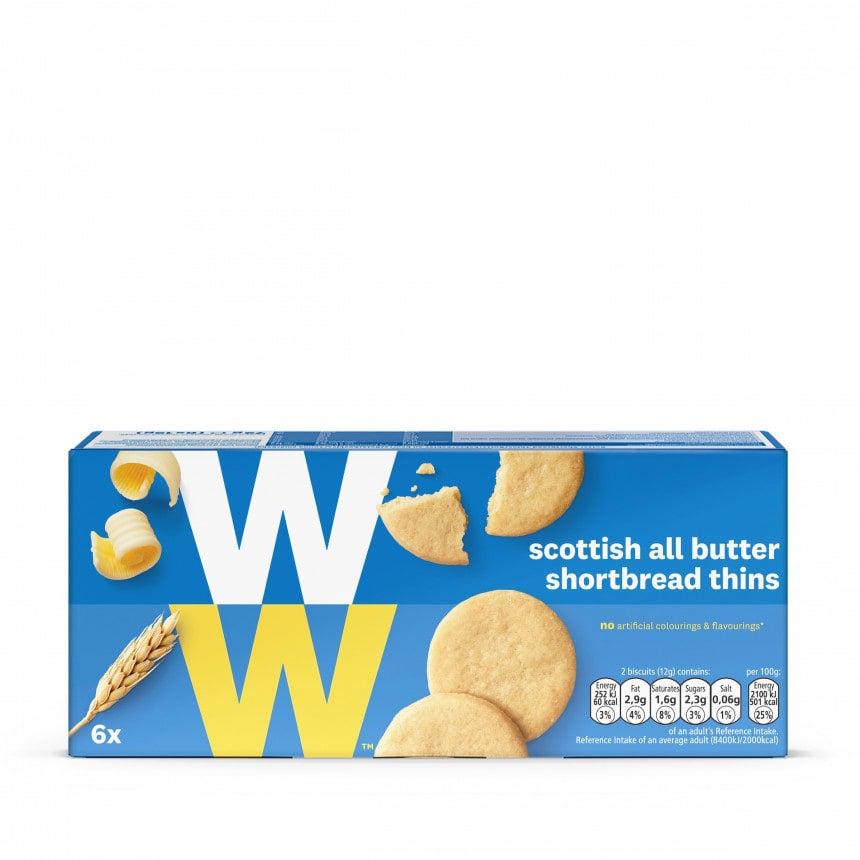 Verpakking WW schotse boterkoekjes