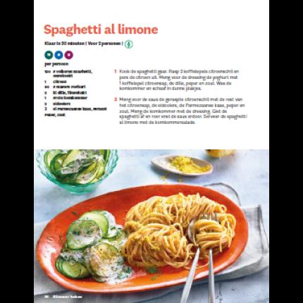 WW slimmer koken spaghetti