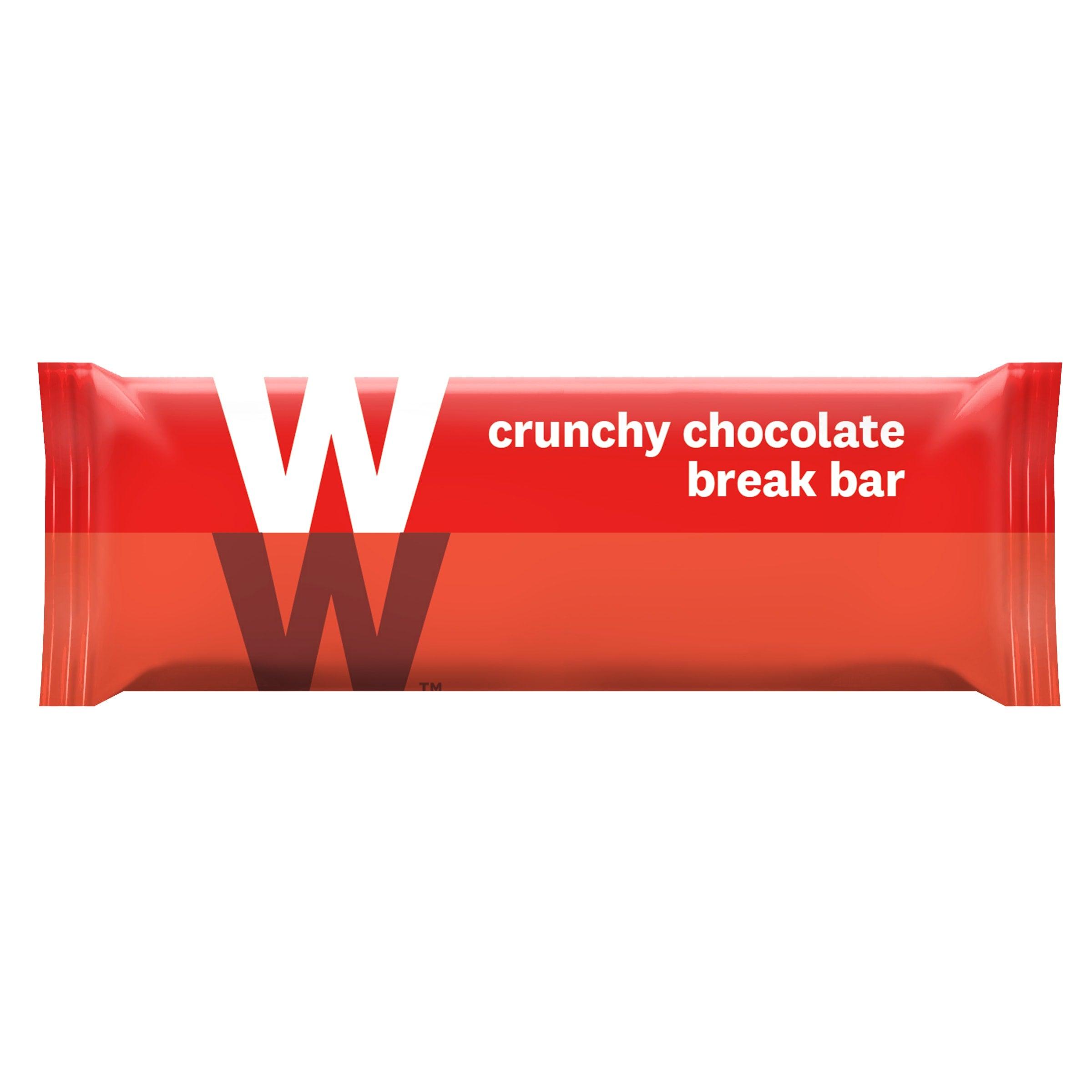 Verpakking WW crunchy chocolate bar