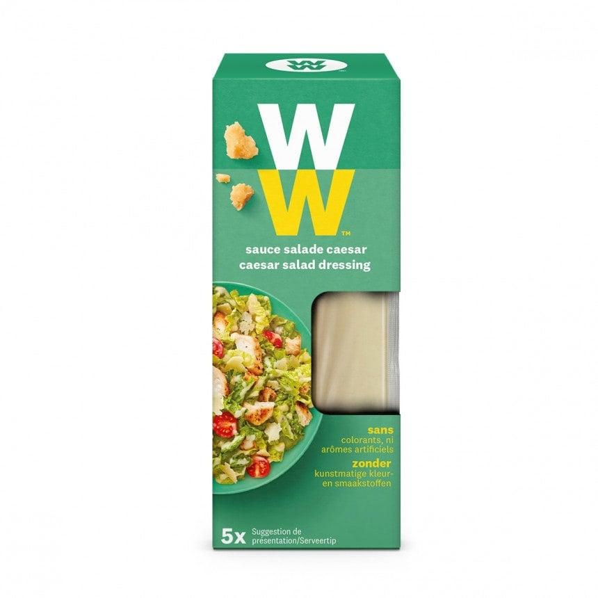 Verpakking WW Caesar Salade Dressing