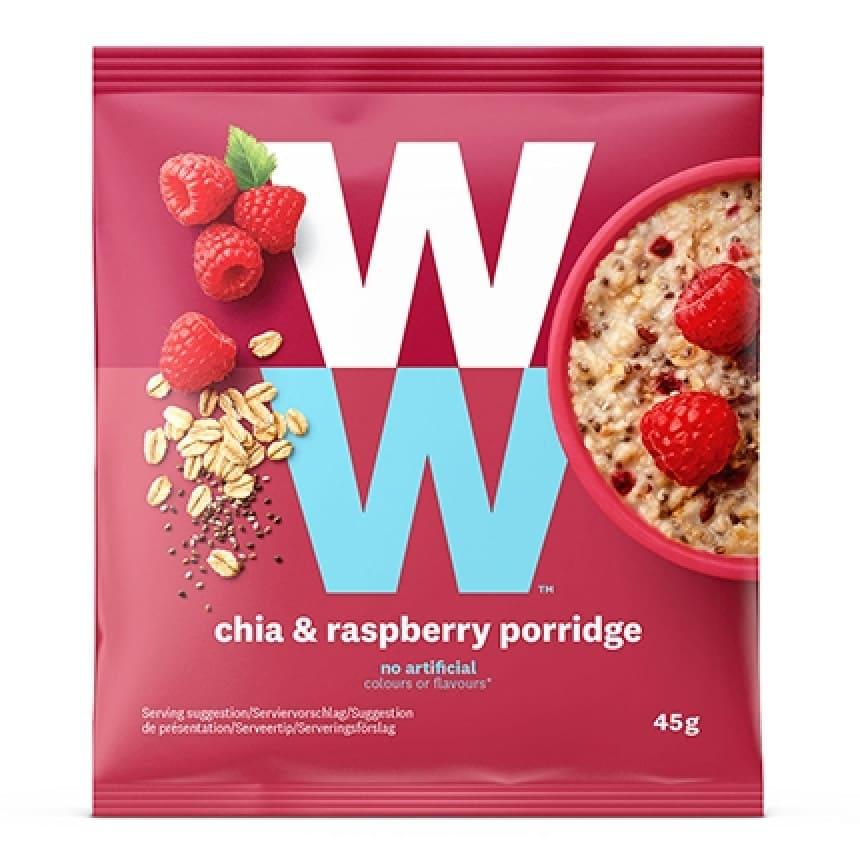 Zakje WW chia & raspberry porridge