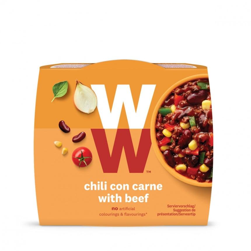 Verpakking WW chili con carne met beef