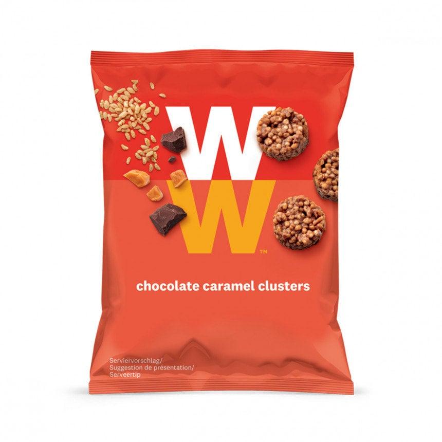Verpakking WW chocolade caramel rotsjes