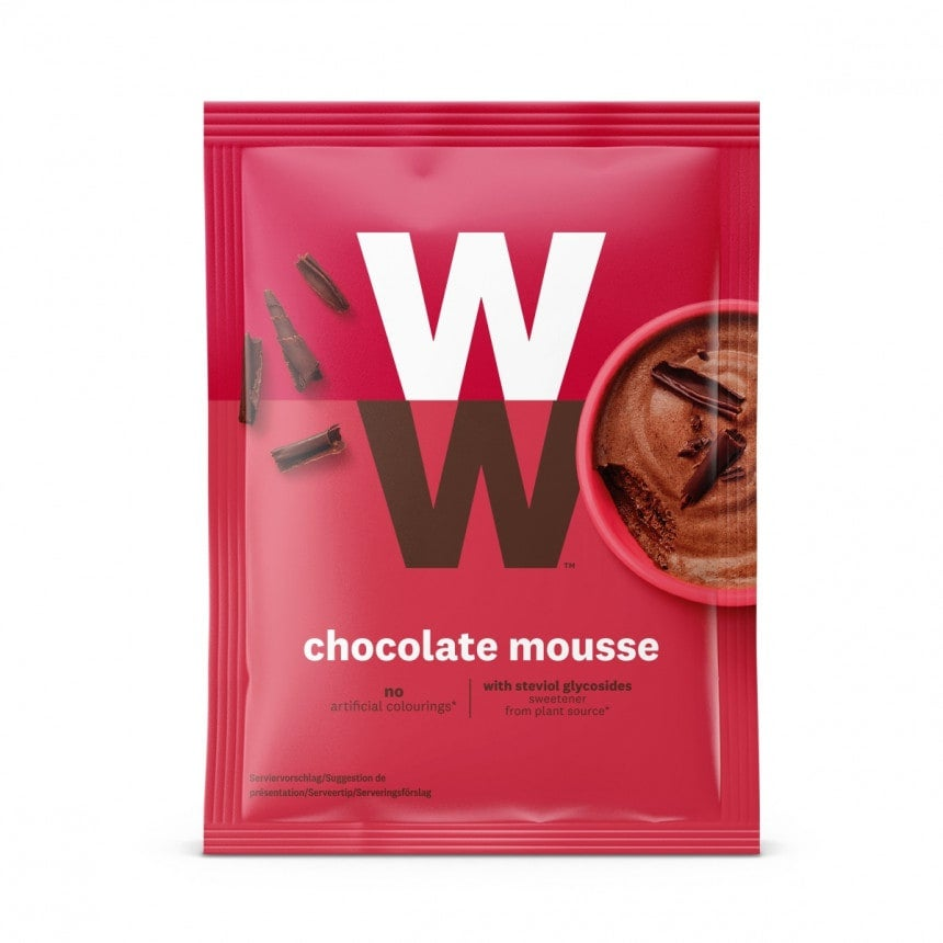 Verpakking WW chocolade mousse