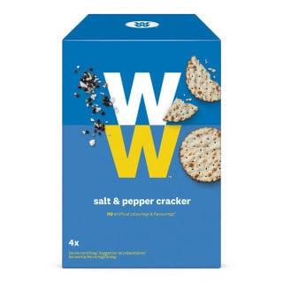 Verpakking WW crackers zout & peper