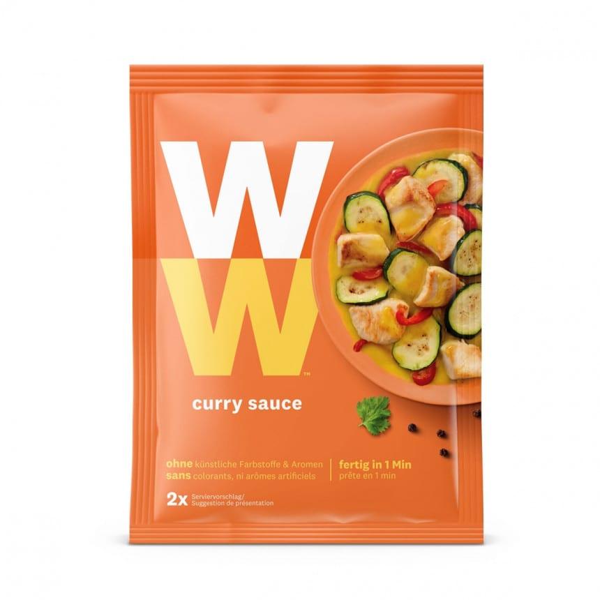 Zakje WW curry saus