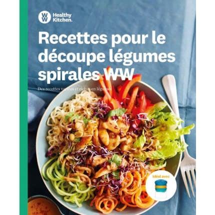 Découpe légumes spirales + livre de recettes gratuit