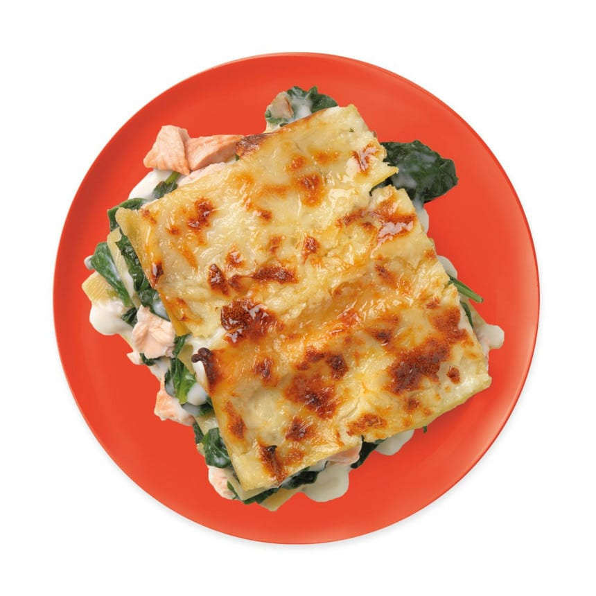 WW gele linzen lasagne maaltijd