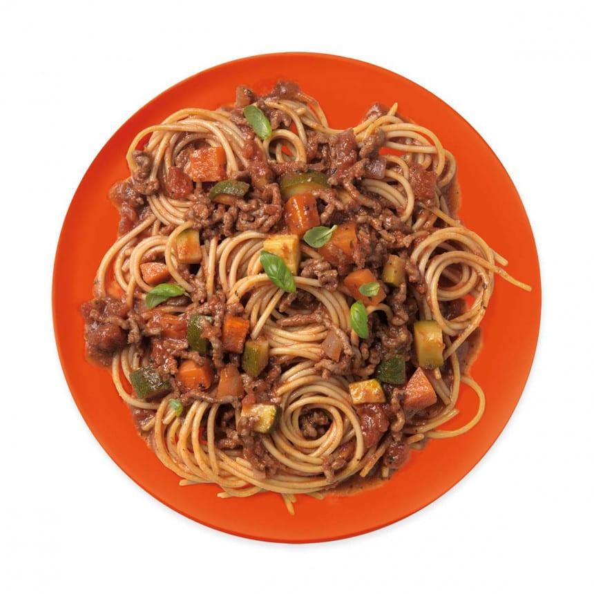 WW gele linzen spaghetti maaltijd