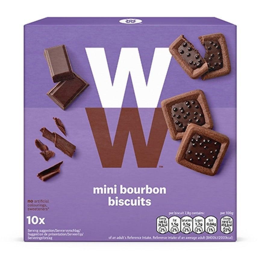 Verpakking ww mini bourbon biscuits