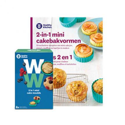 WW mini cake bakvorm + gratis boekje