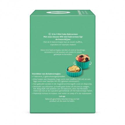 Mini cake bakvorm achtezijde