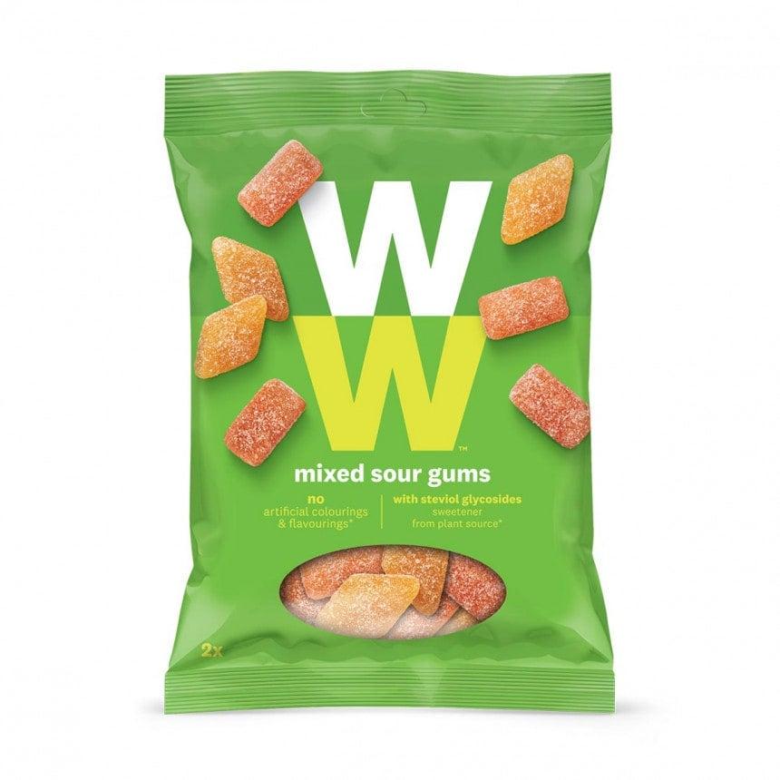 Verpakking van WW mixed sour gums