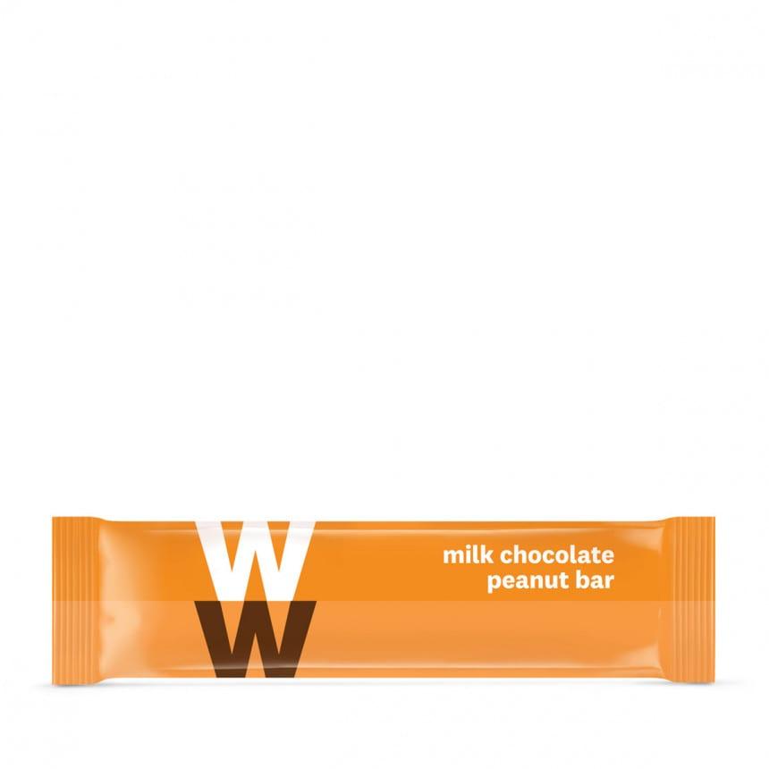 Reep WW pinda muelsireep met melkchocolade