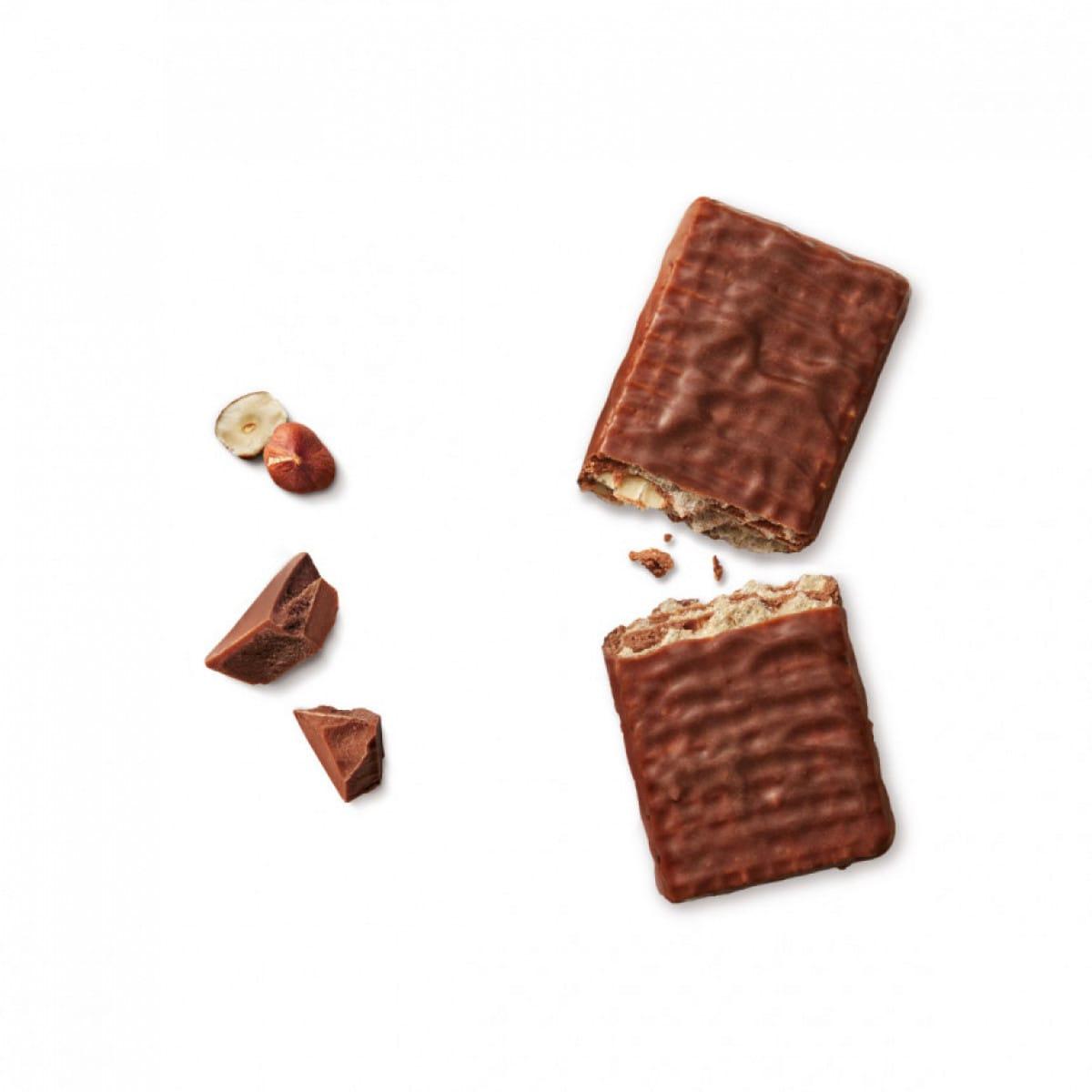 WW protein chocolade hazelnoot wafel onverpakt