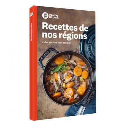 Mes recettes des régions livre