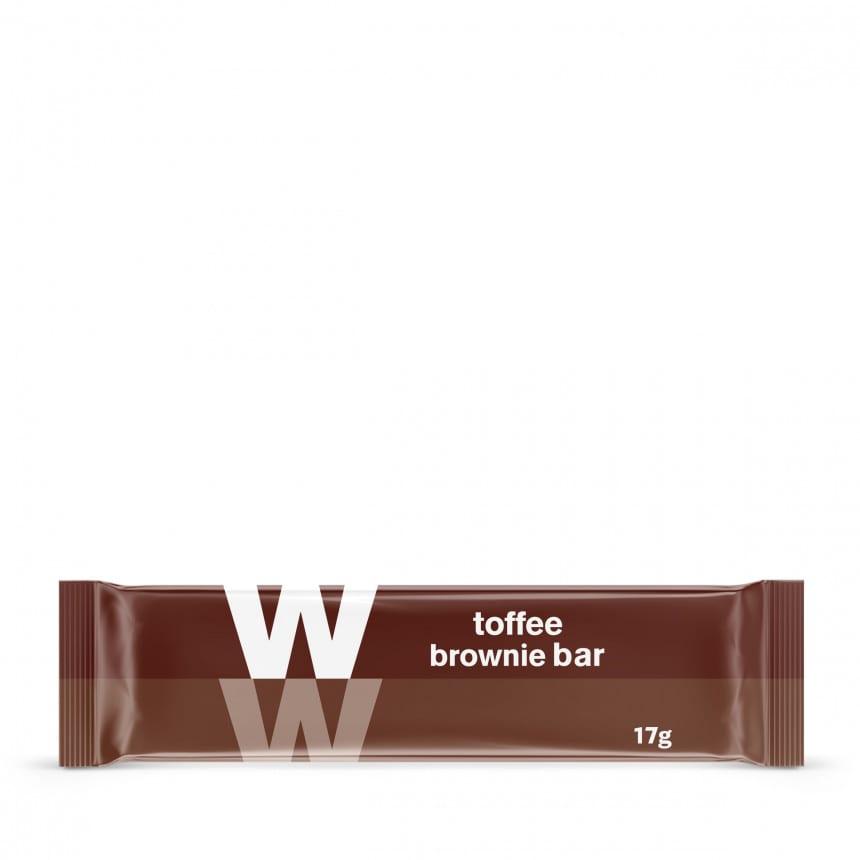 WW toffee sticky toffee brownie bar