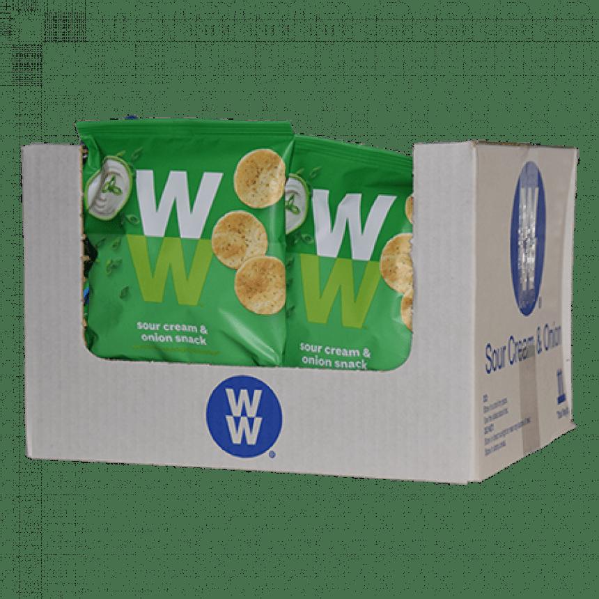 WW volume voordeel sour cream onion chips