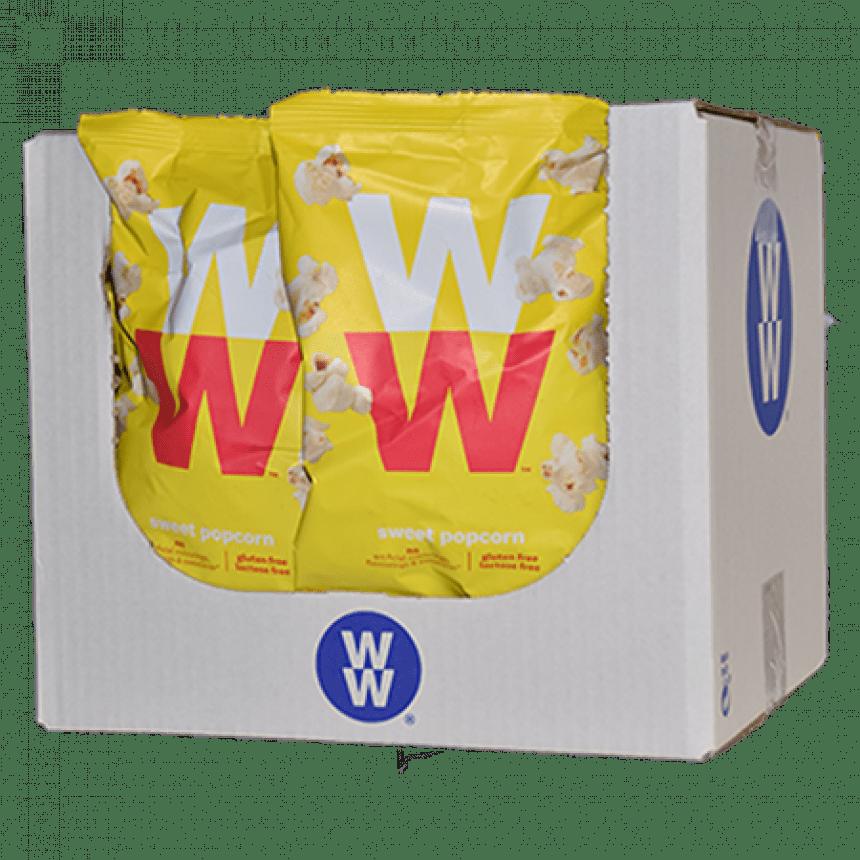 Verpakking WW volume voordeel sweet popcorn snack