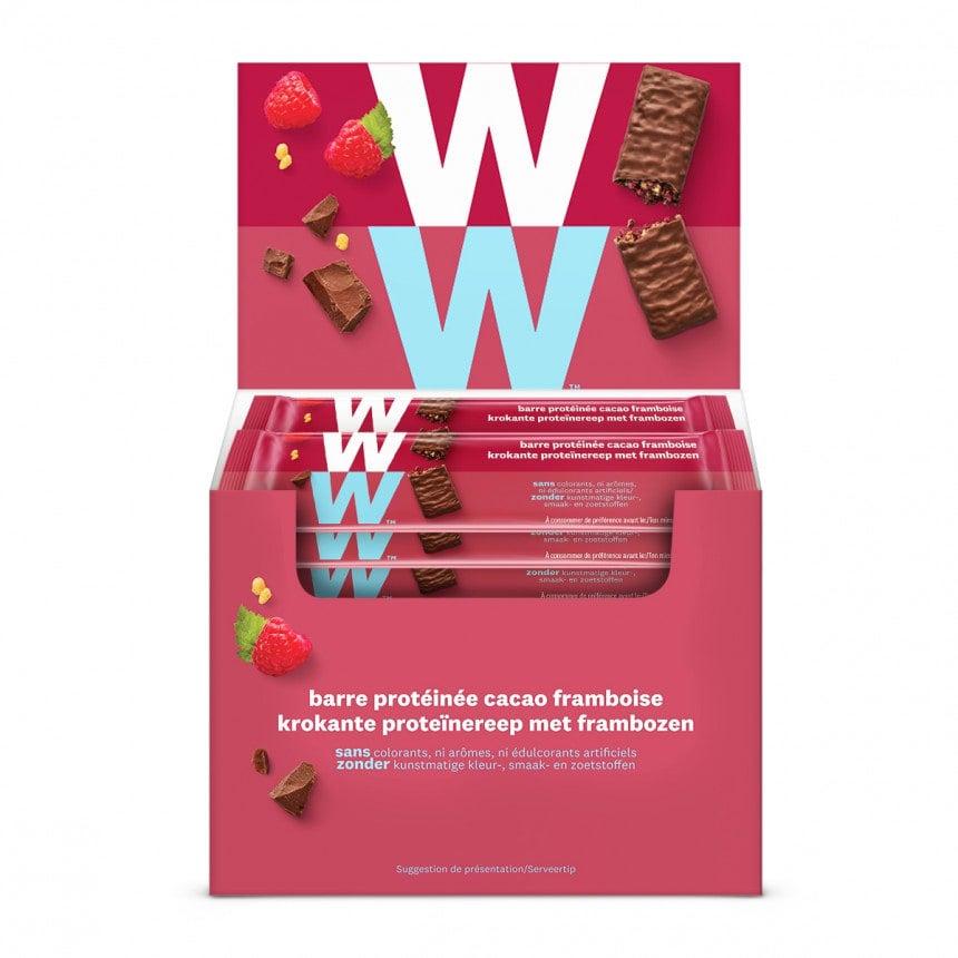 Doos WW volume voordeel 24 proteine frambozen chocolade repen