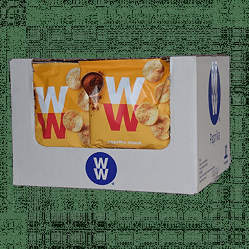 WW volume voordeel paprika chips snack