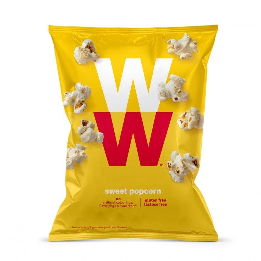 verpakking zoete popcorn