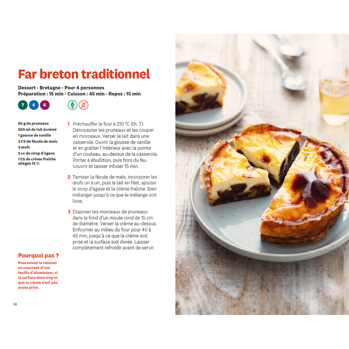 Recettes de nos regions far breton traditionel